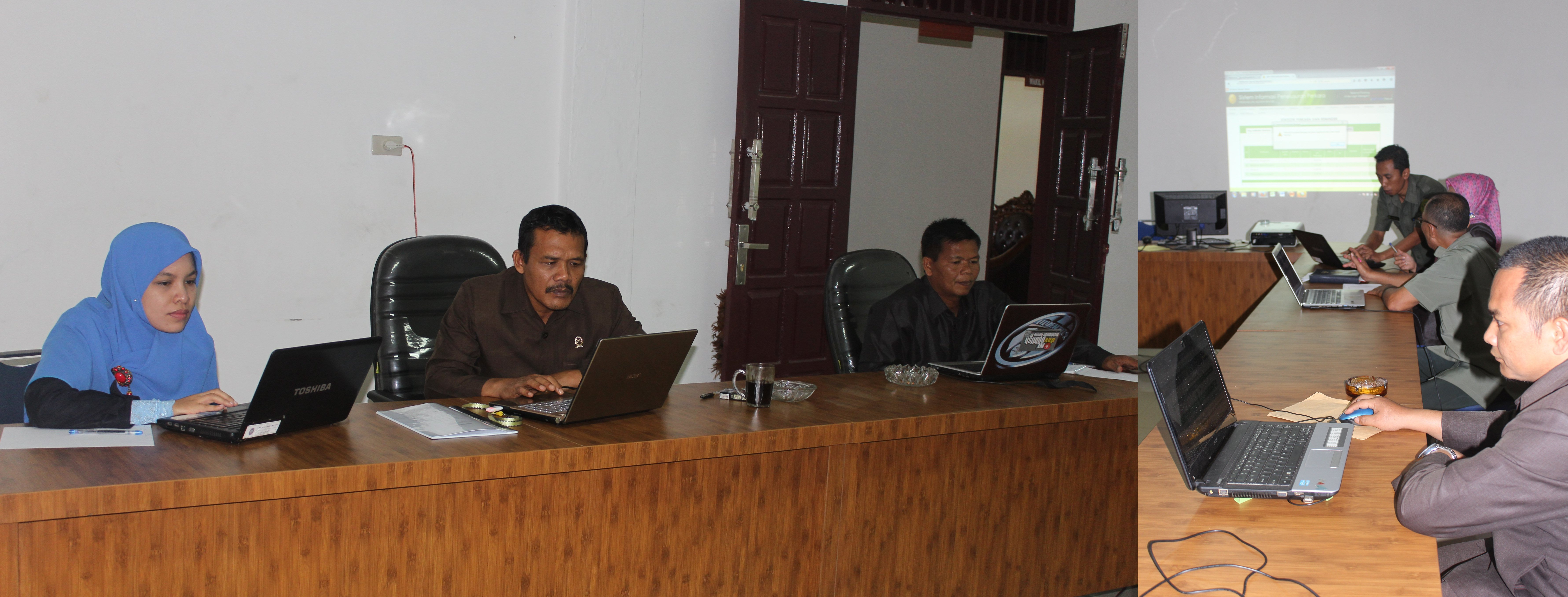Sosialisasi dan Pelatihan SIPP di PA. Balige