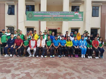 Perayaan HUT Mahkamah Agung RI Ke-72 Pengadilan Agama Balige di PN Balige