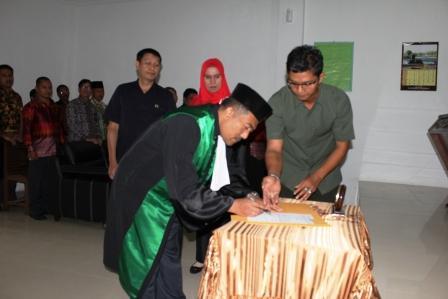 Pengambilan Sumpah Jabatan dan Pelantikan Wakil Ketua Pengadilan Agama Balige