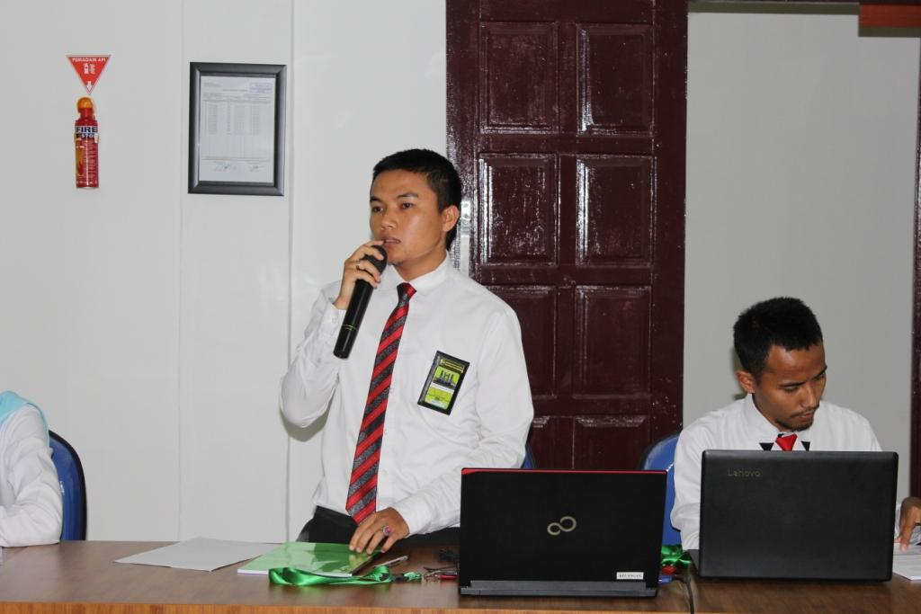 Penyampaian Rancangan Aktualisasi Nilai-nilai Dasar Profesi CPNS Cakim Baru di PA Balige
